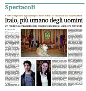 Alessia Scarso regista italiana donna film Italo scicli rassegna stampa marco bocci ansa