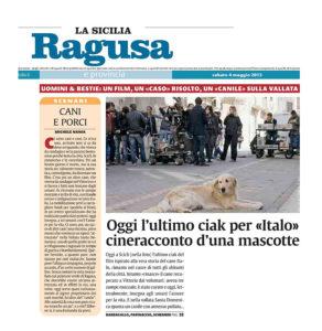 Alessia Scarso regista italiana donna film Italo scicli rassegna stampa marco bocci cineracconto la sicilia