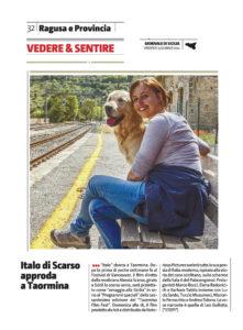 Alessia Scarso regista italiana donna film Italo scicli rassegna stampa marco bocci taormina film festival giornale di sicilia