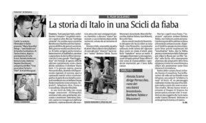 Alessia Scarso regista italiana donna film Italo scicli rassegna stampa marco bocci fiaba tuccio musumeci marcello perracchio la sicilia