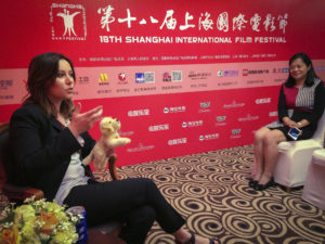 Alessia Scarso regista italiana donna film Italo intervista Shanghai International Film Festival Cina