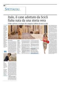 Alessia Scarso regista italiana donna film Italo scicli rassegna stampa la sicilia fiaba storia vera