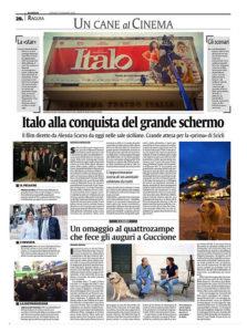 Alessia Scarso regista italiana donna film Italo scicli rassegna stampa grande schermo
