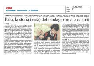 Alessia Scarso regista italiana donna film Italo scicli rassegna stampa storia vera randagio quotidiano nazionale