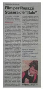 Alessia Scarso regista italiana donna film Italo giardini naxos gazzetta del sud festival del film per ragazzi rassegna stampa