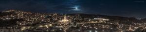 Astrofotografa Alessia Scarso astrofotografia Panorama Modica paesaggio notturno città barocca Unesco luna piena