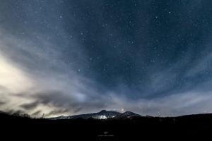 Alessia Scarso astrofotografa astrofotografia vulcano Etna eclissi di luna cielo stellato paesaggio notturno