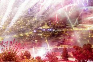 Alessia Scarso fotografa Folklore fuochi d'artificio S. Giorgio Patrono festa religiosa Modica