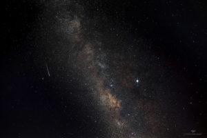 Alessia Scarso astrofotografa astrofotografia cielo stellato via lattea Giove meteora paesaggio notturno