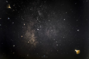 Alessia Scarso astrofotografa astrofotografia cielo stellato via lattea obiettivo vintage helios maganuco modica