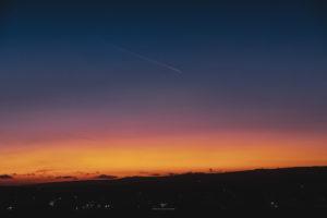Alessia Scarso astrofotografa astrofotografia aereo modica tramonto crepuscolo