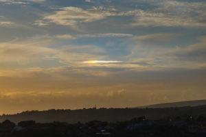 Alessia Scarso astrofotografa astrofotografia fotometeora parelio sole tramonto