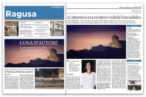 Alessia Scarso astrofotografa obiettivo invisibile luna d'autore la sicilia