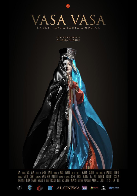 Alessia Scarso regista italiana donna locandina docufilm Vasa Vasa cinema documentario settimana santa modica pasqua madonna