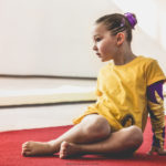 Alessia Scarso fotografa Olivia Bruni ginnasta campionessa nazionale di ginnastica artistica