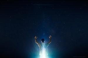 Alessia Scarso astrofotografa astrofotografia via lattea e lightpainting