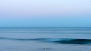 Alessia Scarso astrofotografa cintura di venere ombra della terra maganuco mare cielo