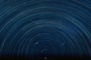 Alessia Scarso astrofotografa stratrails polaris meteors perseidi perseids shower