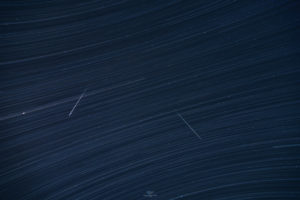 Alessia Scarso astrofotografa startrail stelle acquaridi meteore