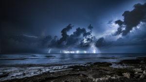 Alessia Scarso astrofotografa tempesta fulmini