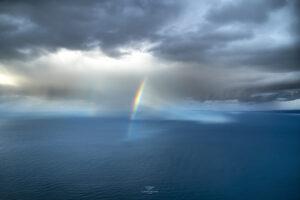 alessia scarso astrofotografa astrofotografia arcobaleno Tindari Tirreno