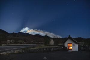 alessia scarso astrofotografa astrofotografia Etna eruzione